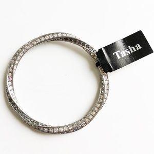 Tasha Rhinestone Sparkle Bracelet NWT